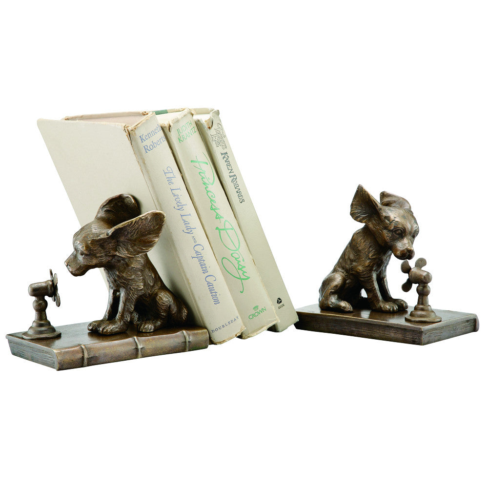 SPI Home Collection Cool Dog Bookends - ArtsiHome