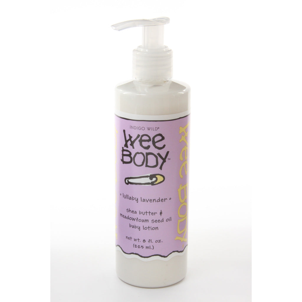 Zum Wee Body Shea Butter and Meadowfoam Seed Oil Baby Lotion Lullaby Lavender -- 8 fl oz - ArtsiHome - Indigo Wild - 11