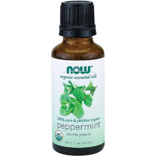 NOW Foods - Organic Peppermint Oil 1 Oz - ArtsiHome