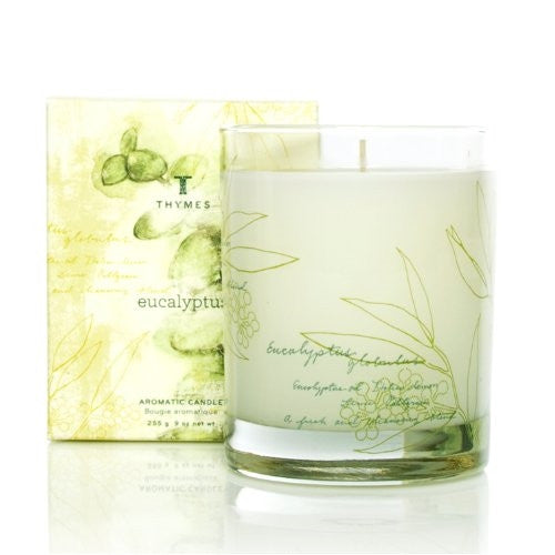 Thymes Poured Aromatic Candle, Eucalyptus 9 oz