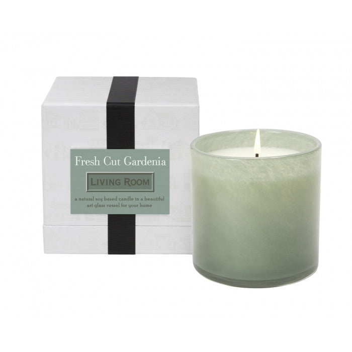 Lafco Living Room - Fresh Cut Gardenia Candle - ArtsiHome