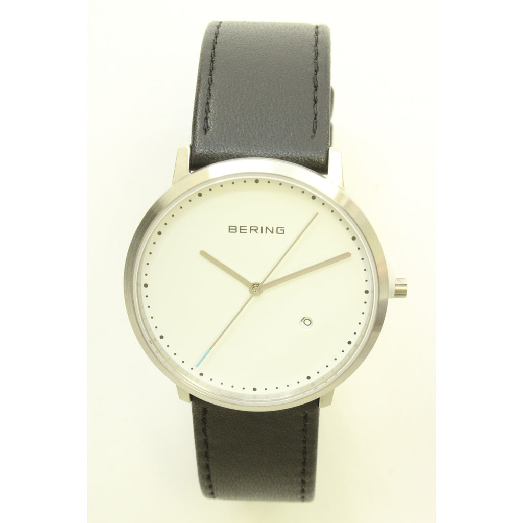 Bering Men's Watch (White/Black) - ArtsiHome