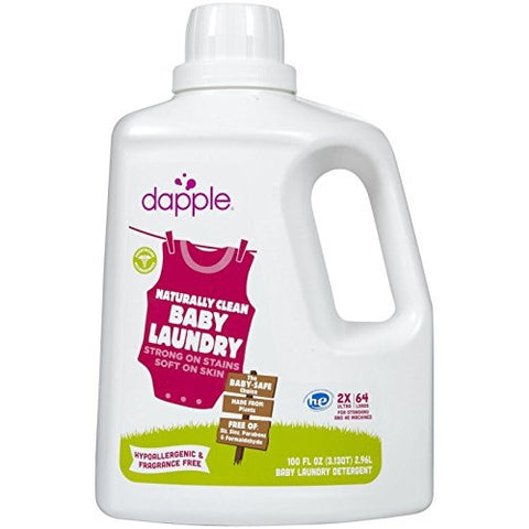 Dapple Baby Laundry Detergent Fragrance Free -  100oz -  64 loads - ArtsiHome