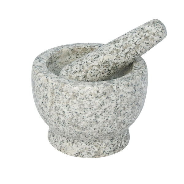 Libertyware 5 Inch Stone Granite Mortar and Pestle - ArtsiHome