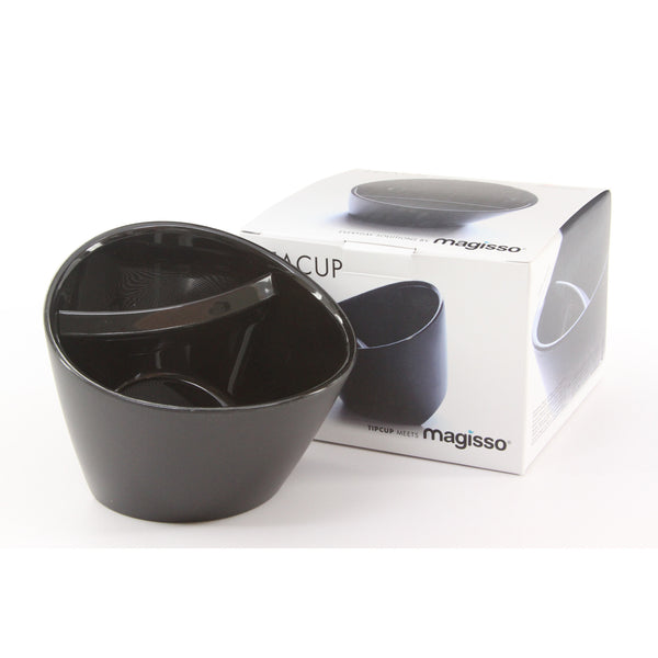 Magisso Tea Brewing Teacup (Black) - ArtsiHome