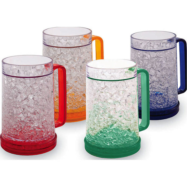 Double Wall Gel Freezer Mug (Set of 4) - ArtsiHome