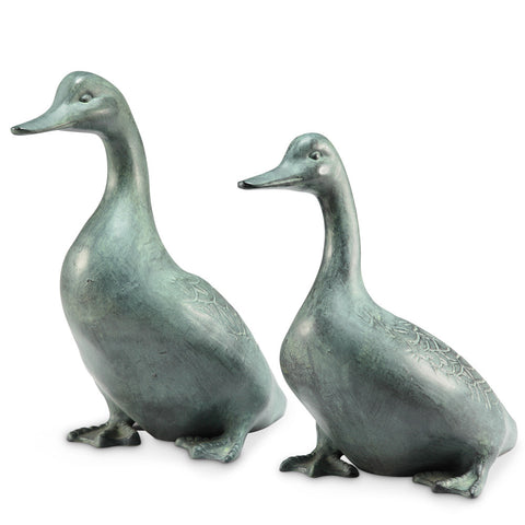 SPI Lucky Duckies Garden Pair Sculpture - ArtsiHome