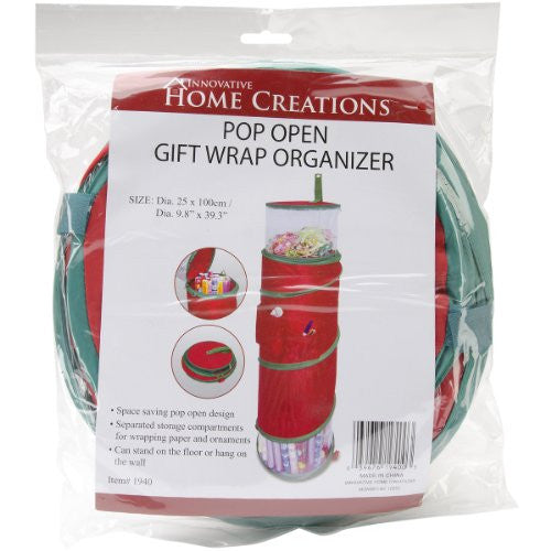 Innovative Home Creations Christmas Gift Wrap Organizer for Wrapping Protection All Year Long - ArtsiHome