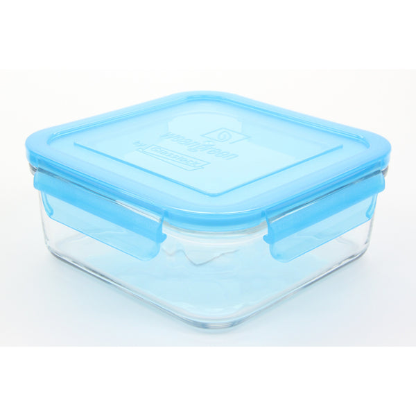 Wean Green Wean Meal Cube Glass Food Containers, Blueberry, Single - 24 oz - ArtsiHome - Wean Green - 4