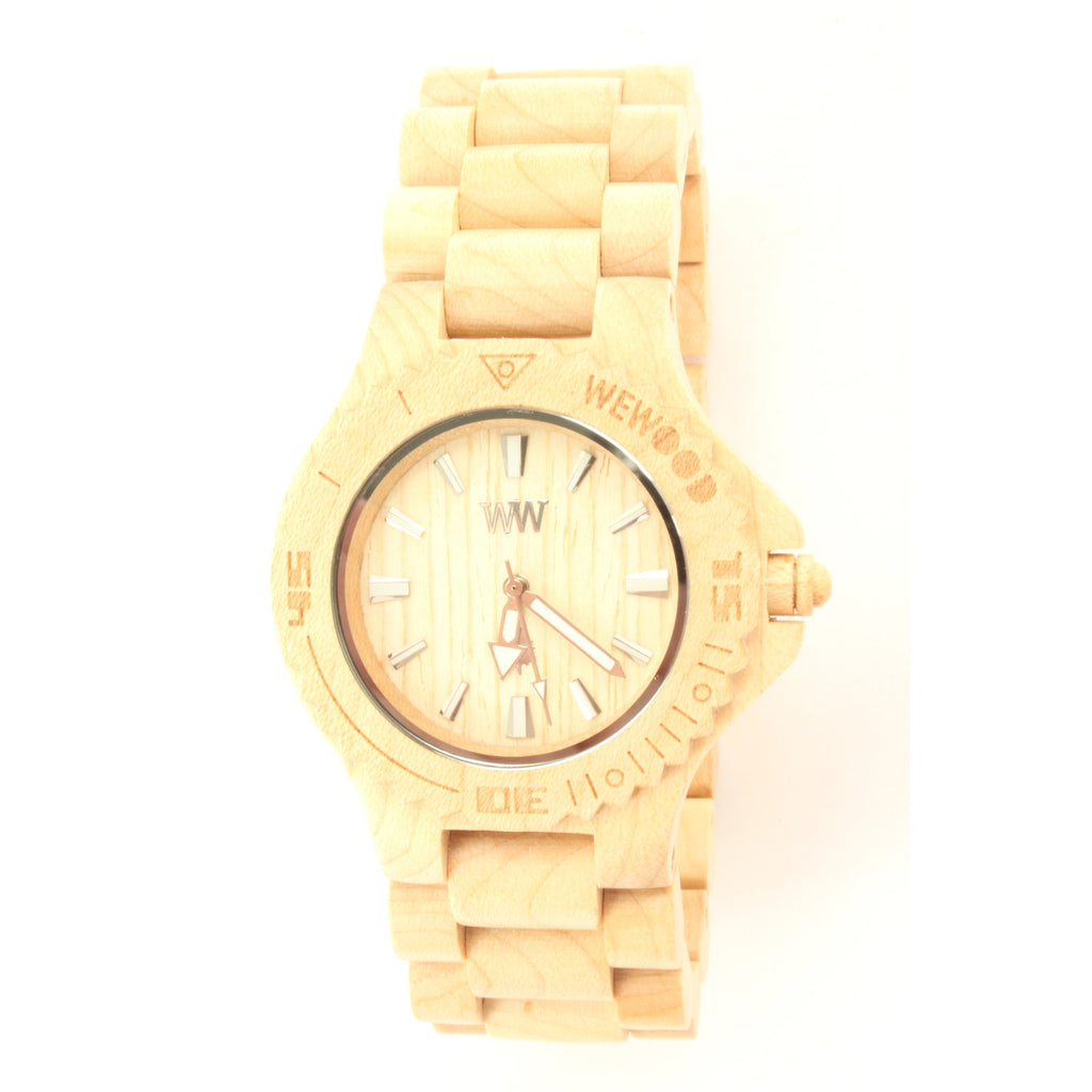WeWOOD DATE Men's Watch (Light Beige) - ArtsiHome - WeWood - 1