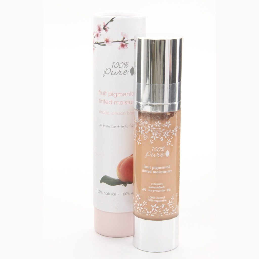 100% Pure Fruit Pigmented Moisturizer SPF 20  - Peach Bisque - ArtsiHome