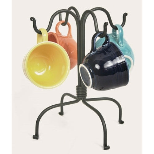 Colonial Tin Works Four Hook Mug Rack - ArtsiHome