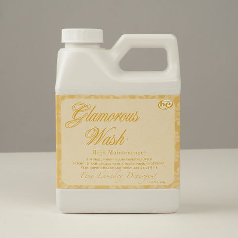 Tyler Candle Company 16 oz. Glamorous Wash Laundry Detergent - High Maintenance Scent - ArtsiHome - Tyler