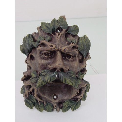 Color Finish Celtic Greenman Wall Mounted Bottle Opener - ArtsiHome
