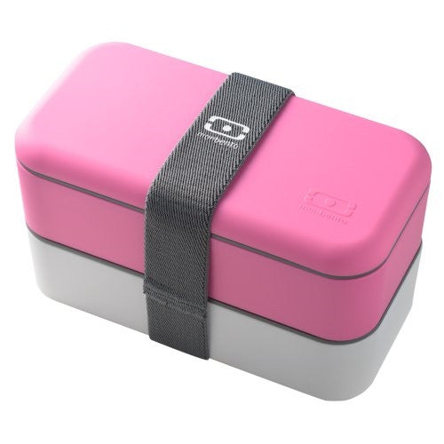 Monbento Original  BentoBox (Pink and White) - ArtsiHome