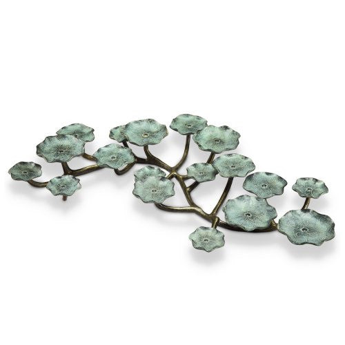 SPI Home Collection Blossom Pillar Candelabra - ArtsiHome