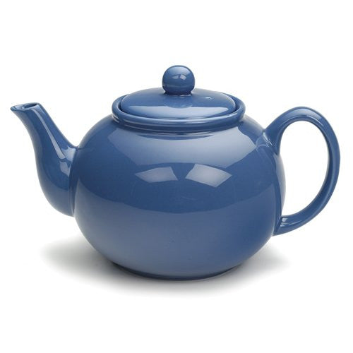 Stoneware Teapot – Light Blue - ArtsiHome