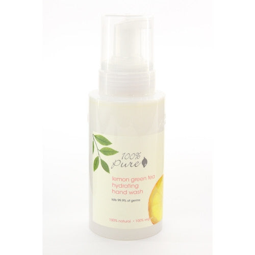 100 Percent Pure Hydrating Hand Wash - Lemon Green Tea 11 oz. - ArtsiHome