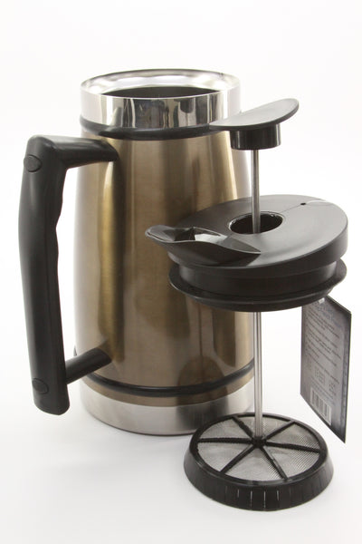 Planetary Design Table Top Stainless Steel French Presses 48oz (Mocha ) - ArtsiHome