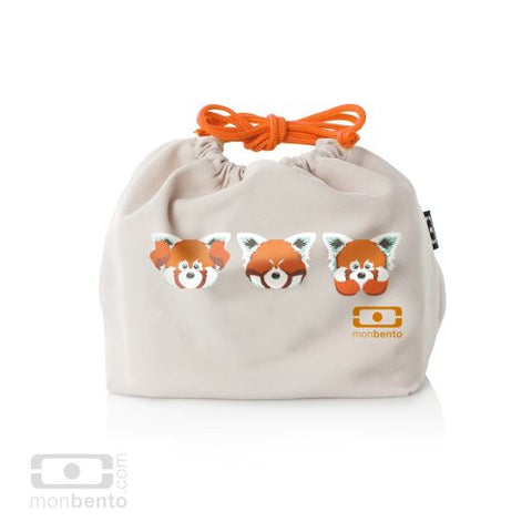 Monbento Original Bento Box Carrying Bag Pochette Panda Roo Design - ArtsiHome