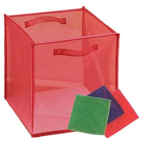 Innovative Home Creations Foldable Storage Box for School, Home or Office (Assorted Colors) - ArtsiHome