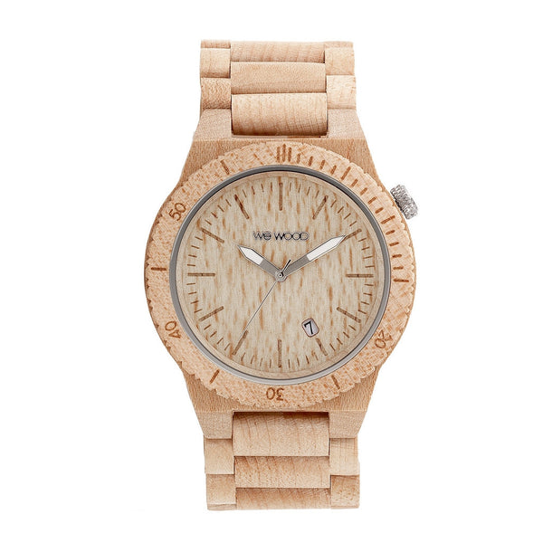 WeWood Beta Beige Wooden Watch - ArtsiHome - WeWood