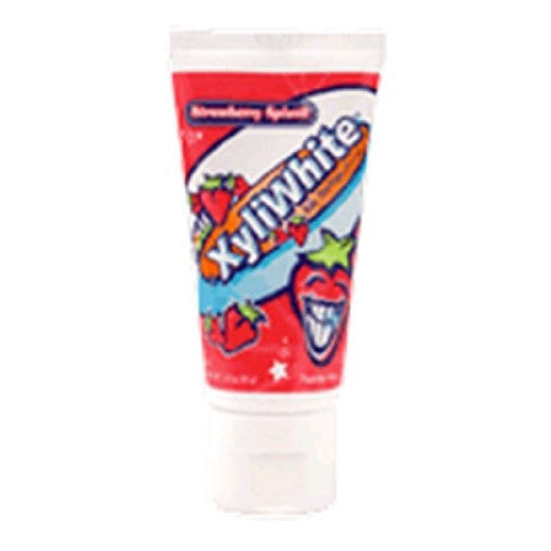 Children's Xyliwhite Toothpaste- Strawberry Now Foods 3 oz Paste - ArtsiHome