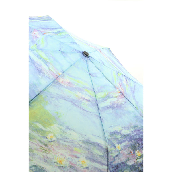 Galleria Enterprises Folding Collapsible Umbrella Water Lilies - ArtsiHome