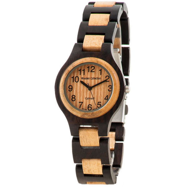 Tense Wood G7509WM Men's Sandalwood/Maple Watch - ArtsiHome