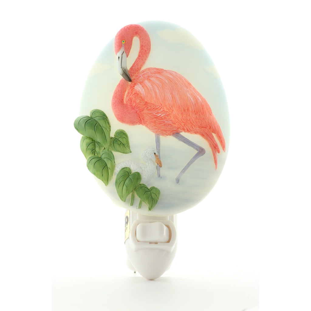 Flamingo Night Light, Ibis & Orchid Nightlights, NIB, 50175 - ArtsiHome