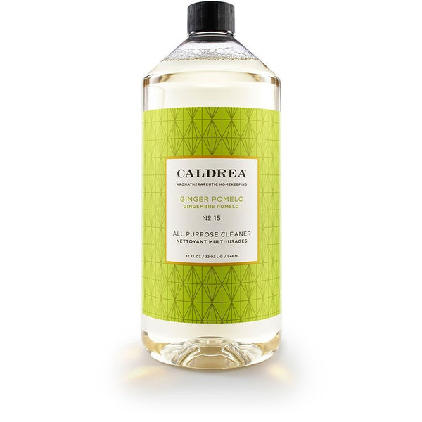 Caldrea Ginger Pomelo 32oz All-Purpose Cleanser - Natural Laundry Kitchen USA 18801-CAL - ArtsiHome