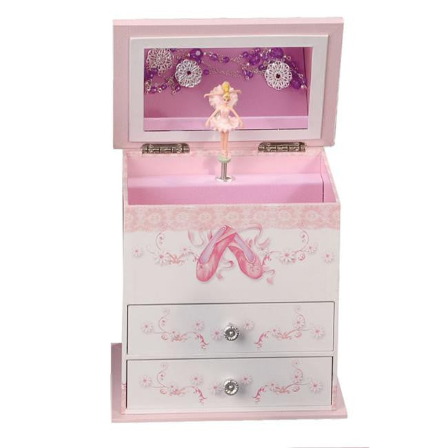 Mele and Co. April Girl's Musical Ballerina Jewelry Box - ArtsiHome