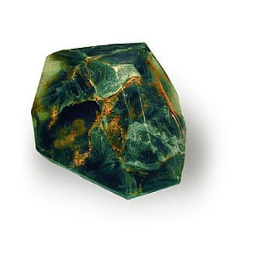 T.S. Pink Soap Rock - 6 oz. - Malachite - ArtsiHome