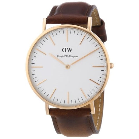 Daniel Wellington Men's Classic St. Andrews Rose Gold Watch - ArtsiHome