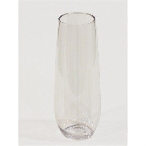 Stemless Plastic Champagne Flutes, Unbreakable, Bpa-free, 6 Oz. - ArtsiHome