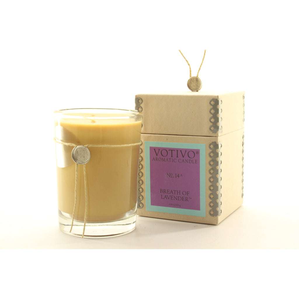 Votivo Aromatic Candle Breath Of Lavender - ArtsiHome - Votivo - 1