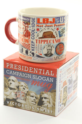 Presidential Slogan Mug - ArtsiHome - Unemployed Philosophers - 5