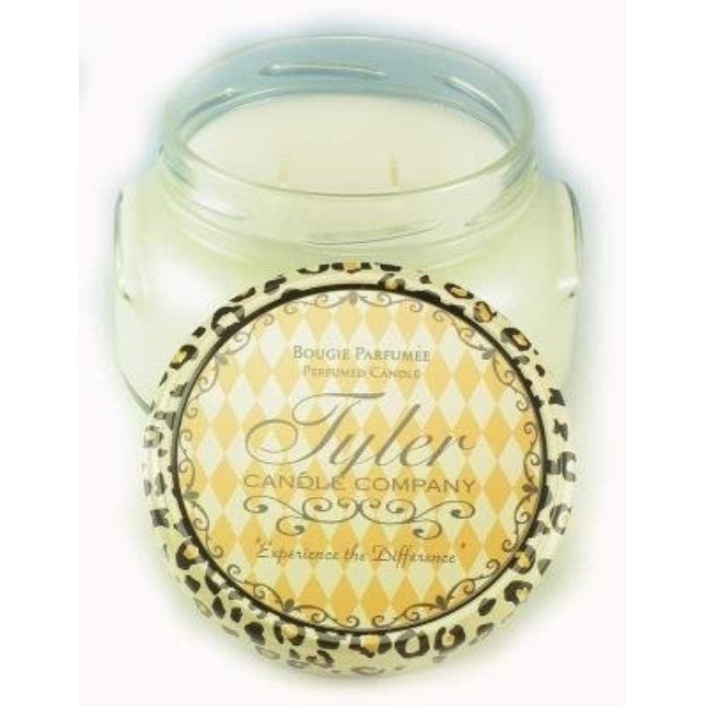 Tyler Candles - Goldleaves Scented Candle - 22 Ounce 2 Wick Candle - ArtsiHome - Tyler