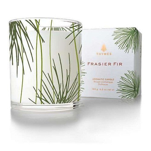 Thymes Frasier Fir Candle, Pine Needle 6.5 oz