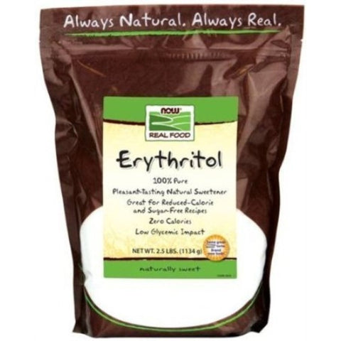Now Foods Erythritol Natural Sweetener 2.5 LB (Pack of 2) - ArtsiHome