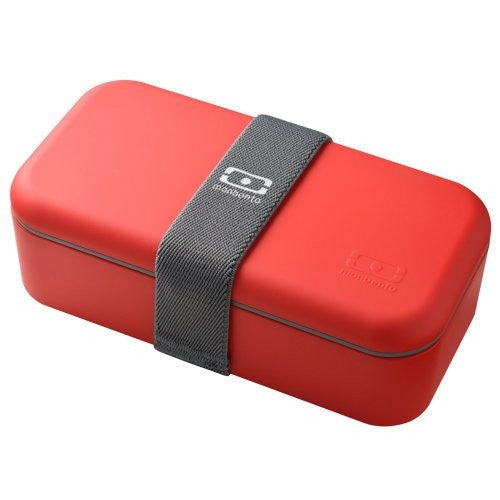 Monbento Single BentoBox Lunch Box (Red) - ArtsiHome