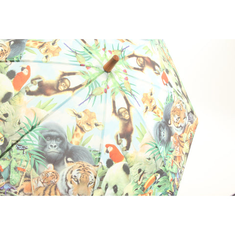 Galleria Animal Kingdom Kid's Umbrella - ArtsiHome