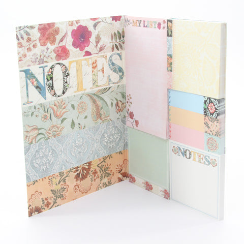 Punch Studio Calico Sticky Notes Pad Portfolio - ArtsiHome