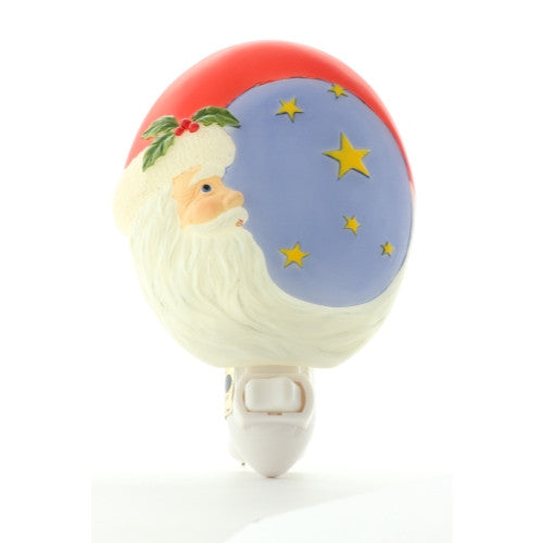 Santa Moon Night Light, Ibis & Orchid Nightlights, NIB, 50109 - ArtsiHome