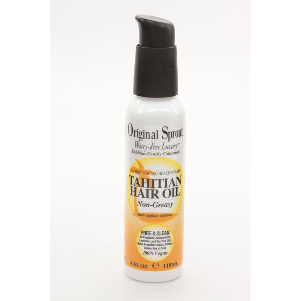 Original Sprout Tahitian Hair Oil - 4 oz. - ArtsiHome