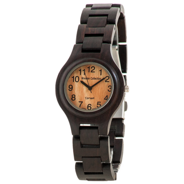 Tense Pacific Watch (Dark Sandalwood) - ArtsiHome