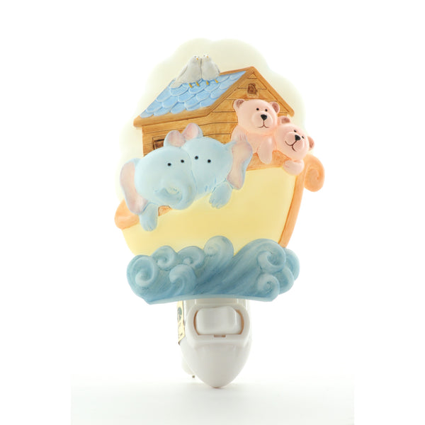Noah's Ark Night Light, Ibis & Orchid Nightlights, NIB, 50141 - ArtsiHome