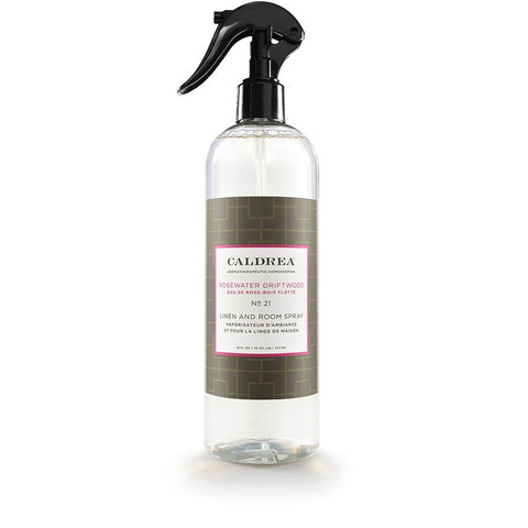 Caldrea Linen and Room Spray, Rosewater Driftwood, 16 Ounce - ArtsiHome