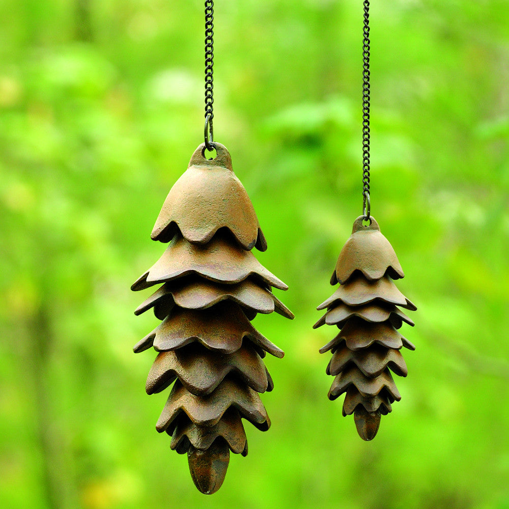 SPI Home 32730 One Large Pinecone Wind Chime (22.5
