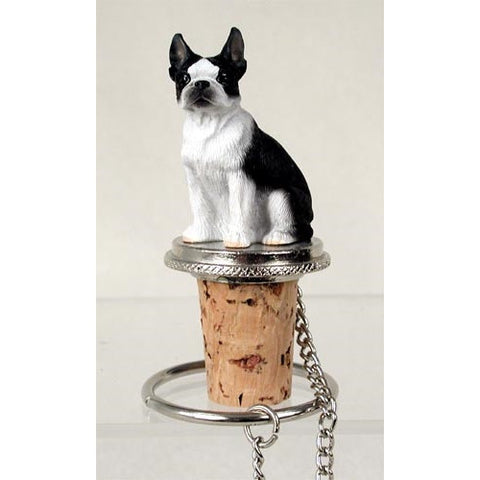 Boston Terrier Wine Bottle Stopper - ArtsiHome